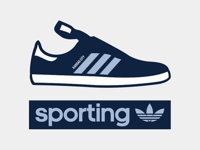 Sporting Sambas sporting kc kansas city skc adidas sambas shoes