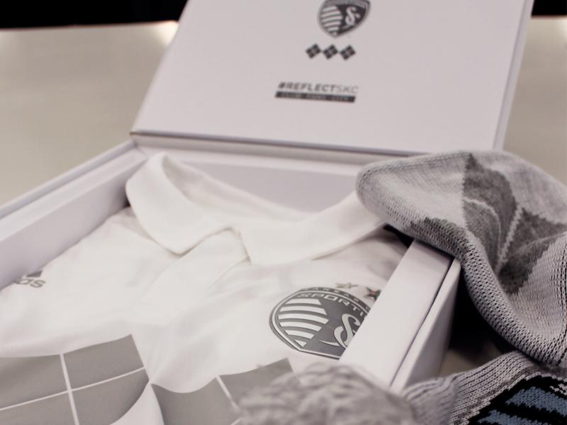 Limited Edition Reflect SKC Box adidas argyle sporting kansas city sporting kc kansas city mls soccer