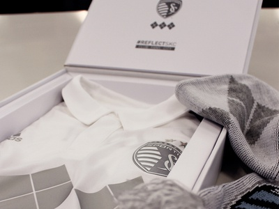 Limited Edition Reflect SKC Box adidas argyle sporting kansas city sporting kc kansas city mls soccer