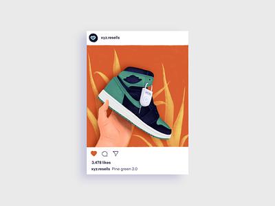 Air Jordan air jordan nike sneaker web illustration app illustration flat graphic character art icon simple texture design vector illustration