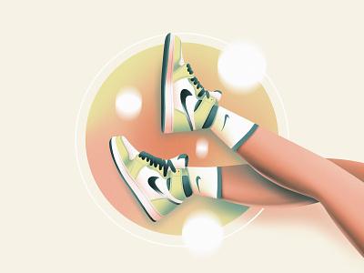 Nike clean minimal simple graphic graphic design fashion sneaker flat animation ux typography branding logo ui texture design vector illustration