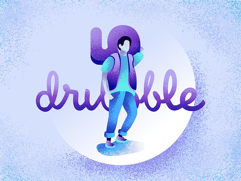 5 Dribbble Invitations