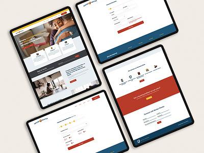 Renter Mentor User Experience Flow design branding identity ux ui