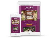 Jo-Ann Fabrics & Craft Stores Bordeaux Email Campaign