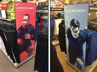 Nike Persistent Signage