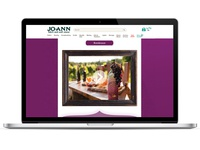 Jo-Ann Fabrics - Bordeaux Email Landing Page