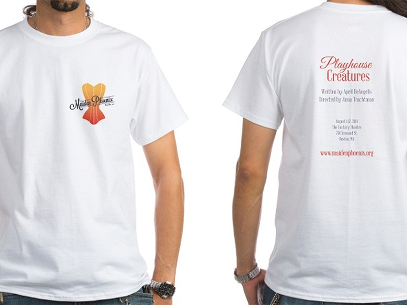 Maiden Phoenix Theatre Co. T-Shirts promotion slogan theater theatre design shirt apparel