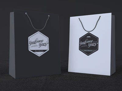 Handsome Henry's Retail Packaging