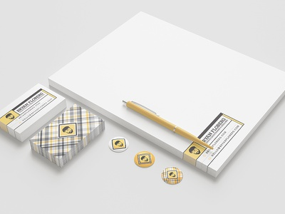 B.Flo Branded Stationary System identity system collateral branded stationary