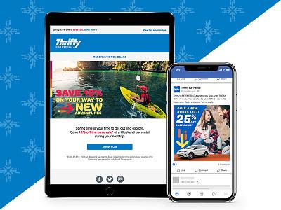 Thrifty Car Rental Brand Rejuvenation car rental thrifty identity branding rebrand