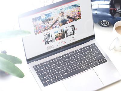 Nippies Website Redesign branding redesign ux ui web design website