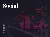 Portfolio – Social icons