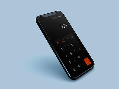 Calculator App #DailyUI calculator design daily ui ui adobe xd app design app calculator app