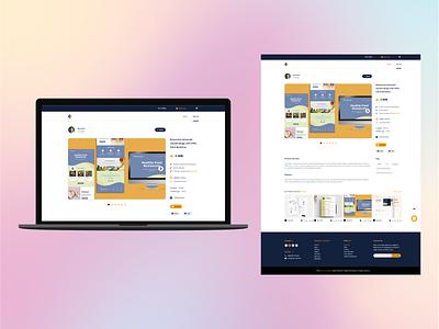 Digital Product E-Commerce Shop (Single Item) design web design xd adobe xd ui single item e-commerce digital product