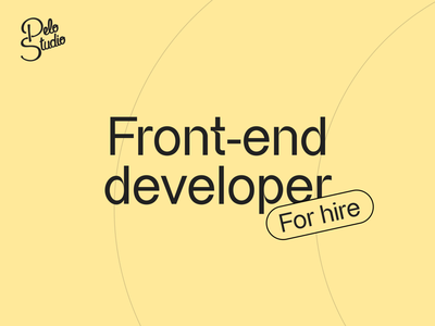 Our dev team is growing ! 🌱 interface design designstudio studio hire offer job application website engineer developement front-end development developers develop front-end