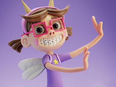Star Fan 13 - Star Butterfly starbutterfly disneyfanart cartoon character 3dart b3d 3d