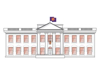 The (Orange and) White House