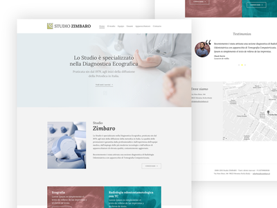 Home page proposal design minimal clean simple medical sketch design page home