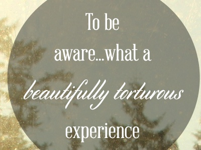 Beautifully tortured experience