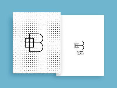 Personal Branding for a Psychologist arrow logo folder colourful envelope personal card psychologist