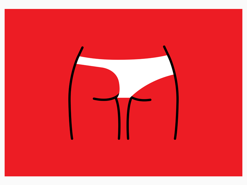 poster for 365 Days visualart graphicdesign legs underwear fled butt ass minimaldesign minimalposter minimal art minimal lessismore posterdesign poster collection poster challenge poster a day poster art posters poster