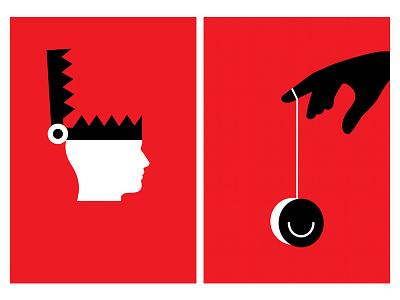 Poster for 365 Days minimalposter red ego happiness minimaldesign lessismore posterdesign poster