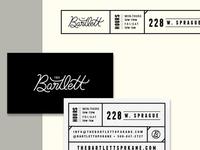Bartlett Stationery