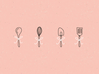 Cherish Sweets - Baking utentils
