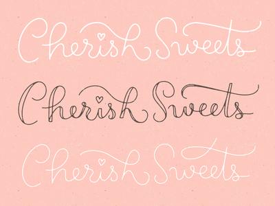 Cherish Sweets - iterations