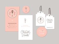 Cherish Sweets - print materials