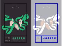 joseph poster colors