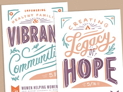 poster series spokane non profit inspiration quote hand lettering poster