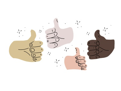 Thumbs Up hands thumbs thumbs up illustration