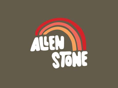 Allen Stone Rainbow Tee