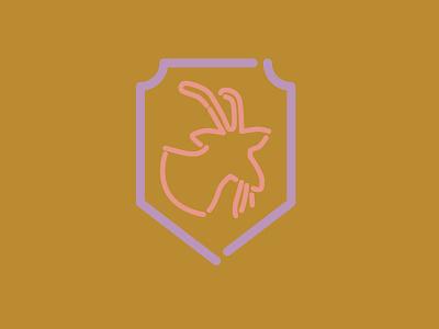 iron goat + lucky you icon branding goat spokane beer branding beer