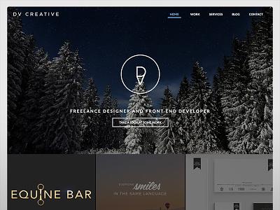 DV Creative new site design home design website