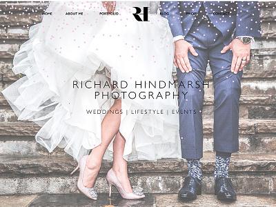 Website for wedding photographer wedding wordpress photographer design website