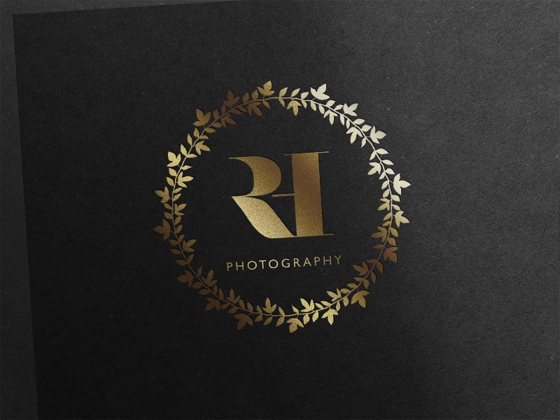 Logo design photographer branding logo design