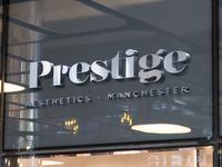 Logo for Prestige Aesthetics branding logo