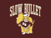 Slow Bullet Vintage Mascot