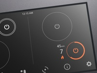 Induction Cooktop control