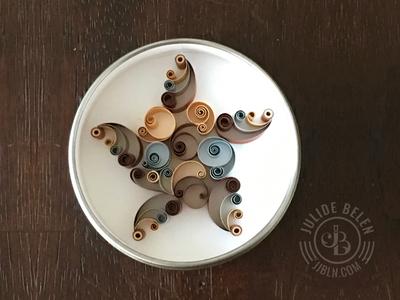 JJBLN - Mini Quilled Paper Star