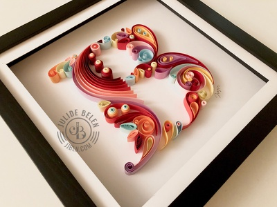 JJBLN | B graphicdesign design giftidea gift colorful paperart paper typography type typography
