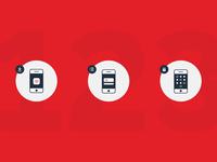Dankort Mobile Icons