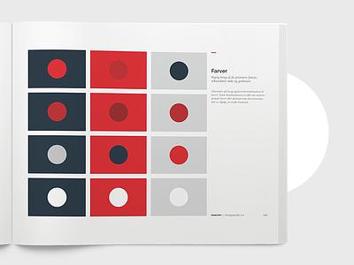 Dankort Brandmanual brandcolors designguide brandmanual colors graphic-design design branding