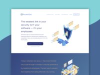 AwareOps Landing Page