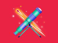 Telescope & Comet