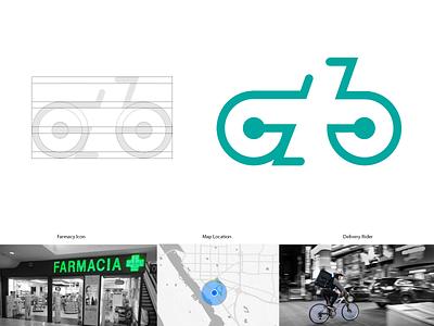 Pharmacy Delivery Logo agency logo icon design vector branding