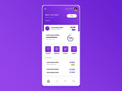 App Home Design app design interface mobile app design mobile app uxui ui