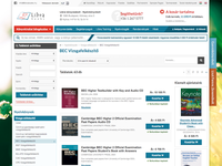 Book webshop category view